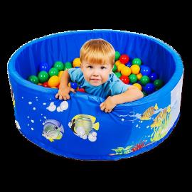 Сухой бассейн с шариками «Подводный мир»